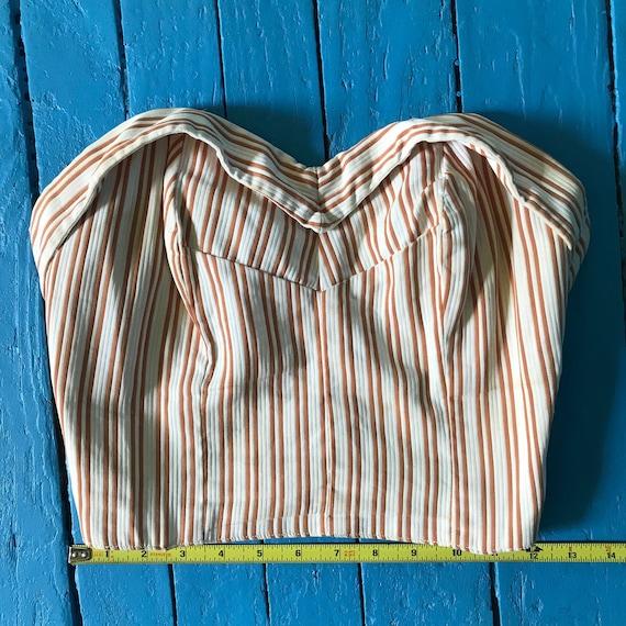 Vintage Bustier Shirt