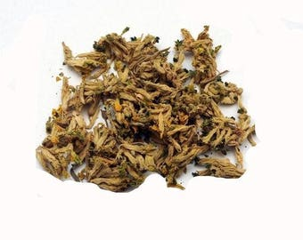 COWSLIP FLOWERS, dried. Primula veris.  Sold by weight