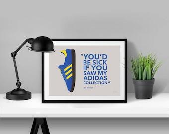 adidas Originals Stockholm Illustrated Poster Print | A6 A5 A4 A3