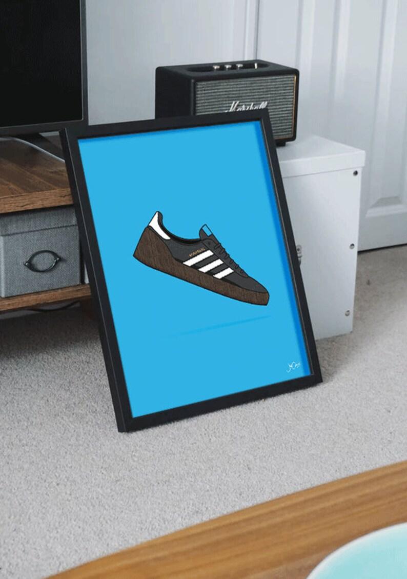 adidas originals trainers poster