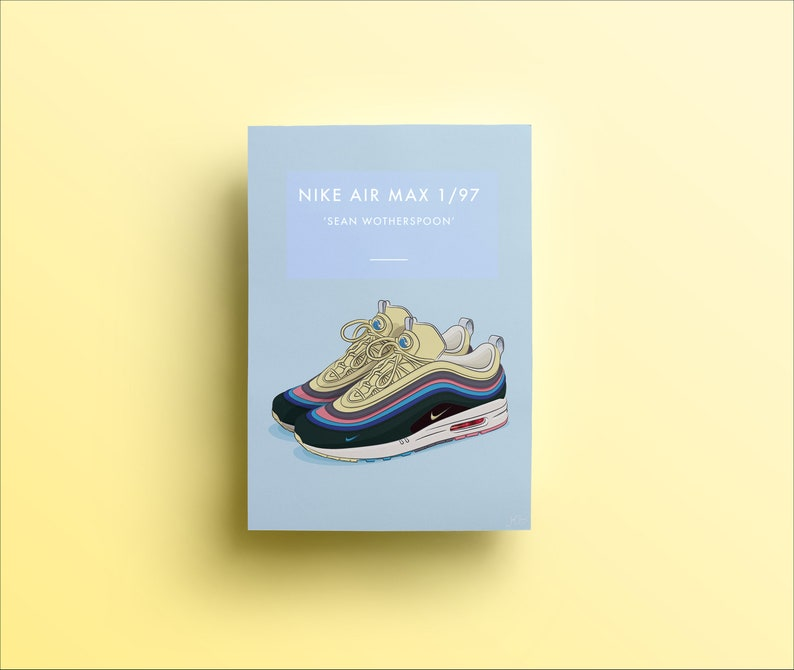 b051cb09413 Nike Air Max 1 97 Sean Wotherspoon Trainers Illustrated