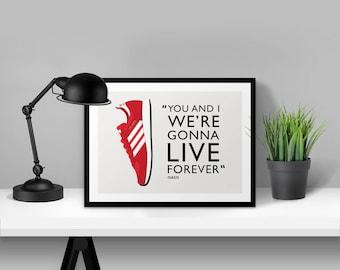 adidas Originals Atlanta Illustrated Poster Print | A6 A5 A4 A3