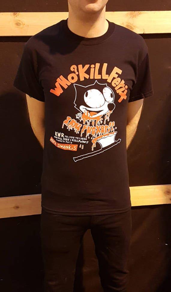 Swankys - qui a tué ferix? T-Shirt Gai confondre