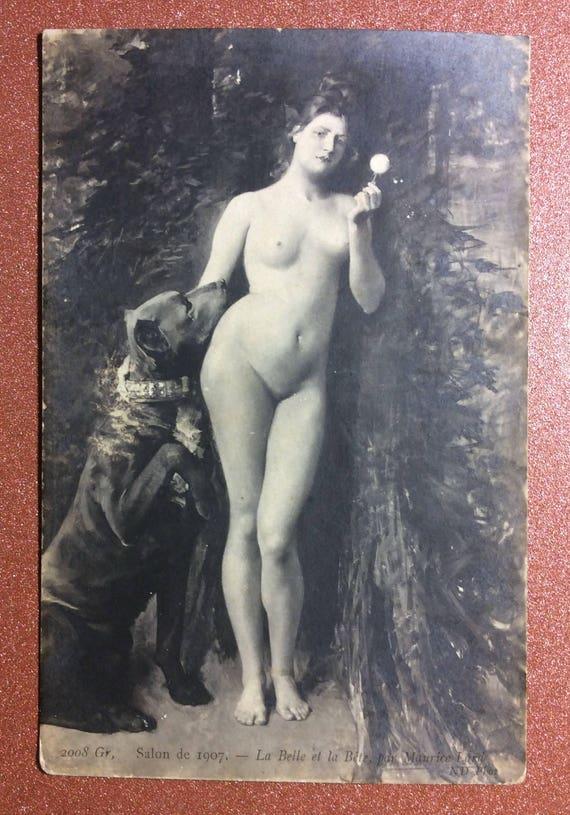 Classic big tits brunette