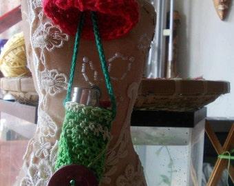 Handmade knitted case for lighter