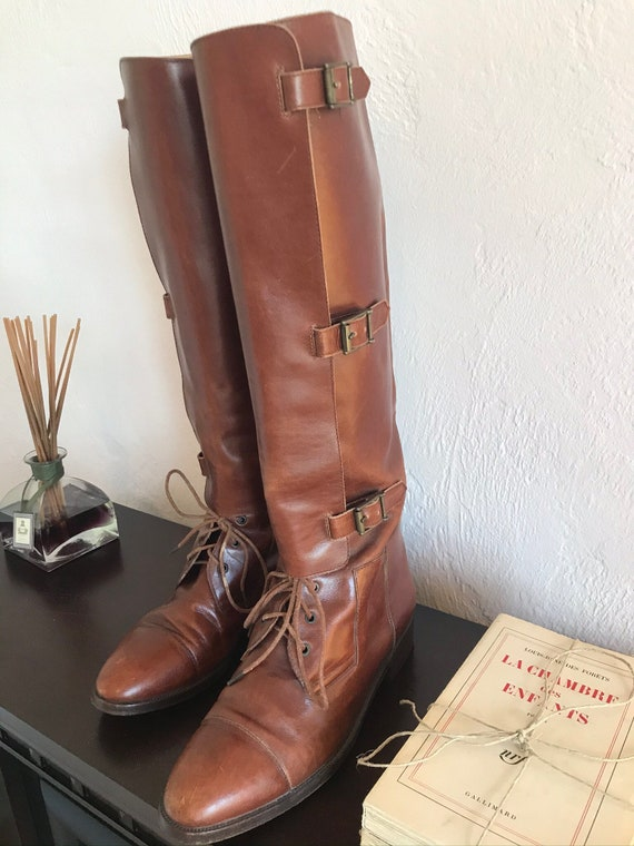 Ralph Lauren British Riding/Equestrian Boots