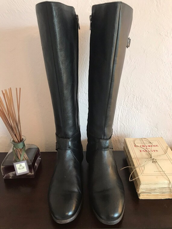Uggs Leather Equestrian Style Riding Boots