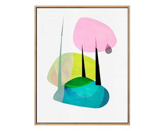 Into The Forest | Abstract | Modern  | Giclée Art Print | 308 gsm Hahnemühle fine art paper