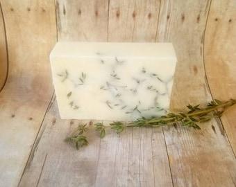 Organic Rosemary Dandelion bar soap