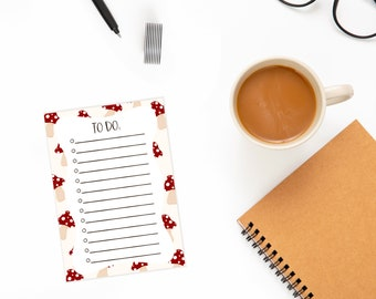 Handmade A6 Notepad - Notes - 25 Pages - 90 gsm paper - Recycled Paper