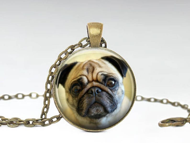 Dog Pug Necklace-handmade Resin Jewelry Quality First Jewelry & Watches