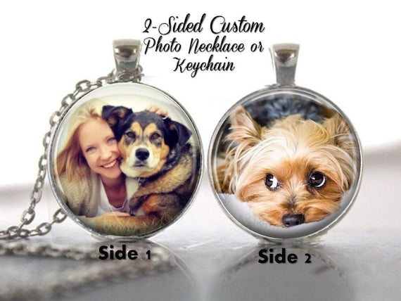 Dog Picture Necklace Pendant