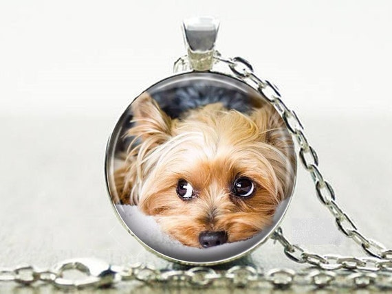 Adjustable Chain Dog Lover Gift For Her Sterling Silver Small Delicate Charm Yorkshire Terrier Necklace Puppy Yorkie Pet Jewelry