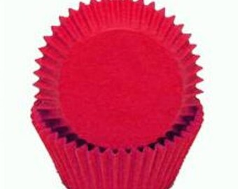 Red Cupcake Liners - 500 Count
