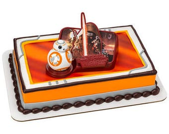 Star Wars The Force Awakens Cake Decorating Set