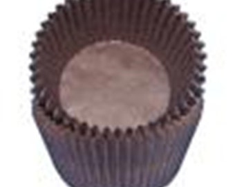 Brown Cupcake Liners - 500 Count - CK Products