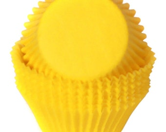 Yellow Cupcake Liners - 500 Count