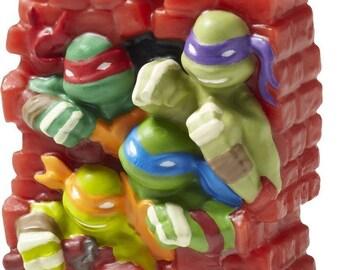 Teenage Mutant Ninja Turtles Birthday Candle - 2811-7745
