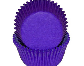 Purple Cupcake Liners - 500 Count