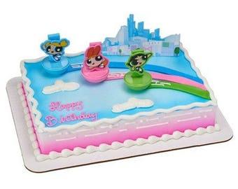 Powerpuff Girls Cake Topper