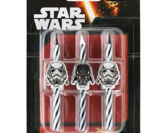 Star Wars Birthday Candles - 6 Count