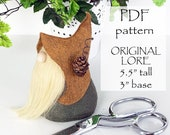 ORIGINAL LORE Gnome Sewing Patterns, pdf Gnomes Patterns, Gnomes, Tutorials, Gnome Sewing Patterns, Gnome Tutorial, DIY Pattern, Sewing pdf