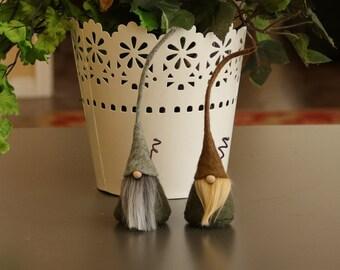 MINI Nordic Gnomes, Cimmi, Home Gnome, Miniatures, Mini Gnomes, Scandinavian Gnome, Little Gnomes, Elf, Elves, Waldorf, Wizards, Gnome Homes