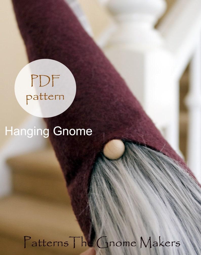 Gnome Patterns DIY Gnome Pattern DIY Gnomes Gnomes image 0
