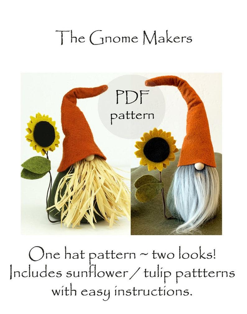 Gnome Patterns PDF Gnome Sewing Pattern Nordic Gnomes DIY image 0