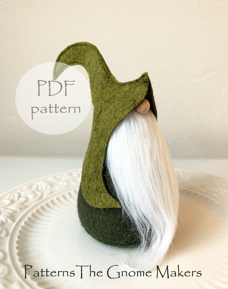 Eflin Gnome Pattern DIY Gnome Pattern DIY Gnome Gifts image 0