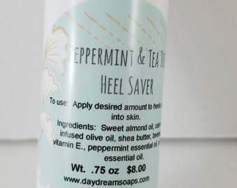 Peppermint and Tea Tree Heel Saver