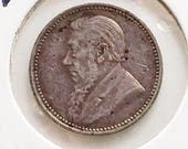 ZAR South Africa 1897 3 Pence KM 3 Kruger Gift For Coin Collector Sterling Silver