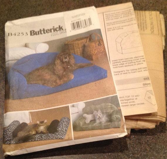 Butterick B4253 Nähen Muster Haustier Betten und Kissen Hunde | Etsy