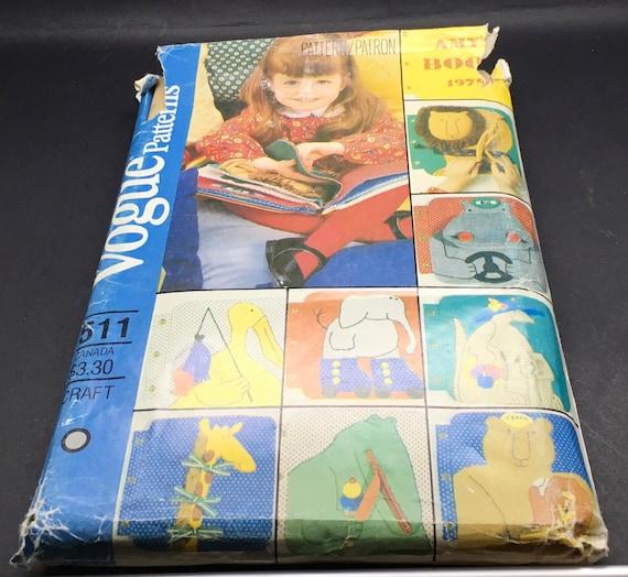 Schnittmuster Vogue Handwerk 511 1951 Lehre Haustiere Tuch | Etsy