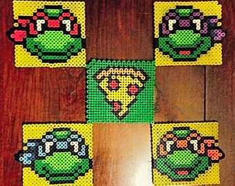 Teenage Mutant Ninja Turtles - Medium Perler