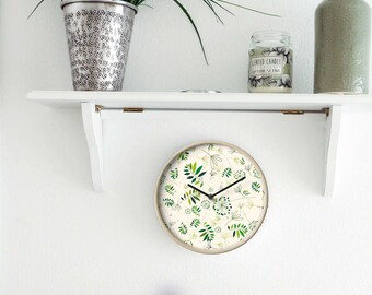 Green Eco Design Wall Clock