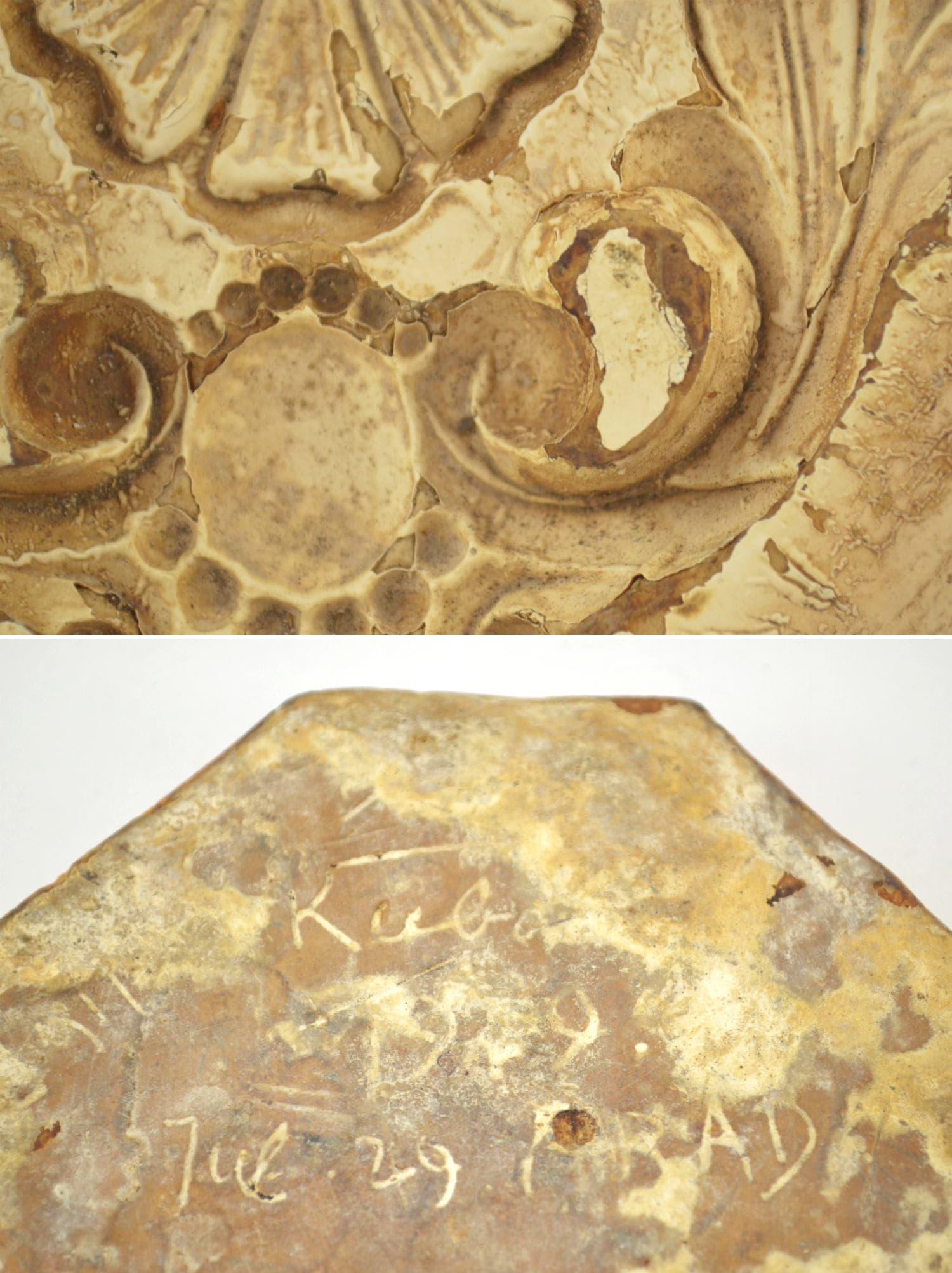 Architectural Ornament Mold, Plaster Casting Mold, Baroque Molding ...