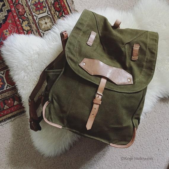 NOS Army Surplus Backpack, Never Used Vintage Mili