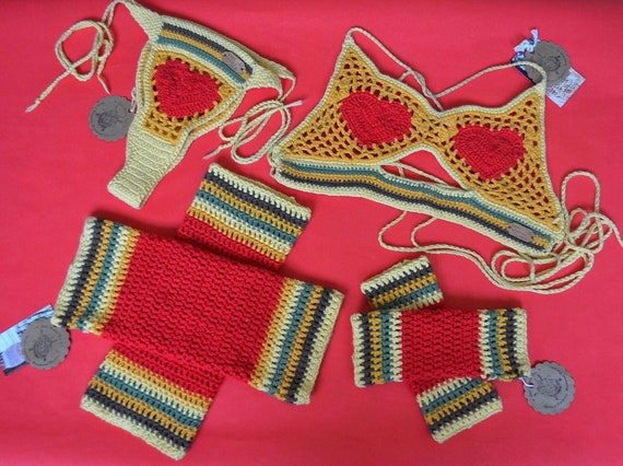 Honey Love Crochet Set