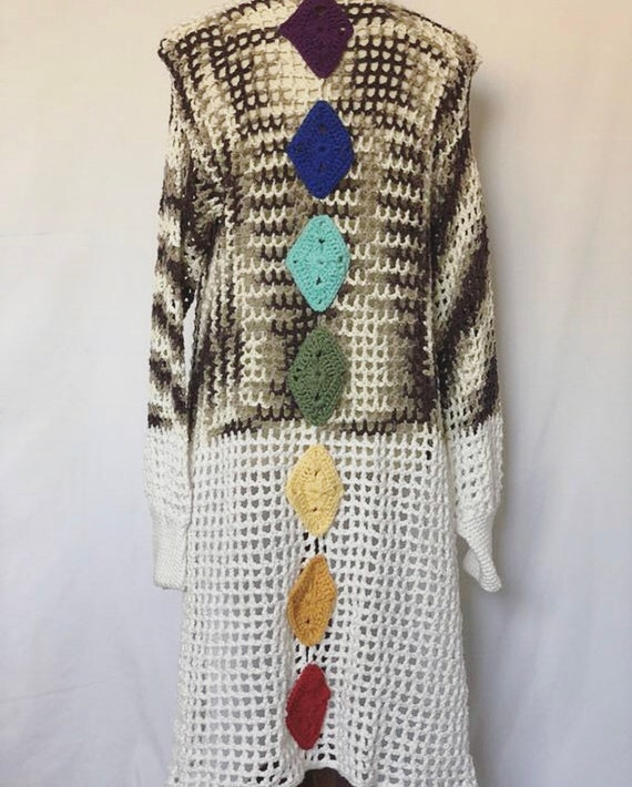 Chakra Crochet  Cover Up