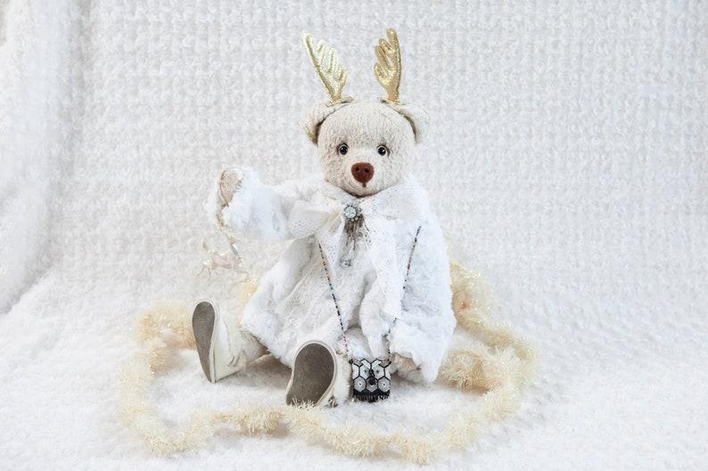 Miss Becky OOAK artist bear Christmas Teddy bear Bekkiebears image 0