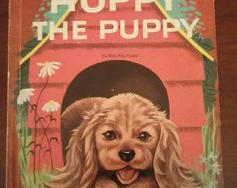 1950 Wonder Book, Hoppy the Puppy: The Roly-Poly Puppy