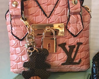 b36e761c0dd4 Designer inspired handbags for American Girl Dolls! Made with Authentic  Louis Vuitton materials.