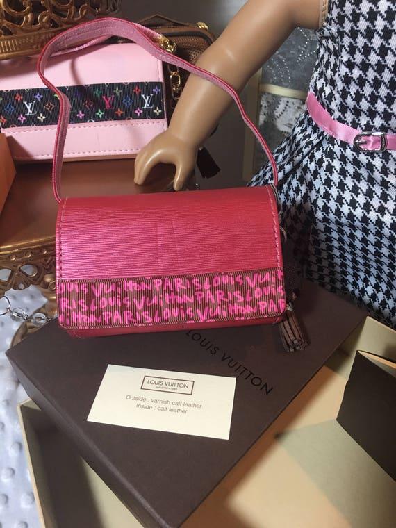 c0066417dafd Designer inspired messenger bags for American Girl 18 Doll