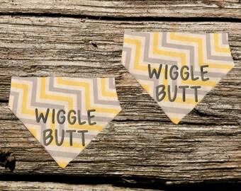 Wiggle Butt Over The Collar Pet Bandana