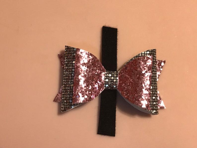 Pink /& Sliver Glitter Glitter Bow For Pets  Pet Bow Bow For Pets Free Shipping Pet Bow Tie  Pet Accessories
