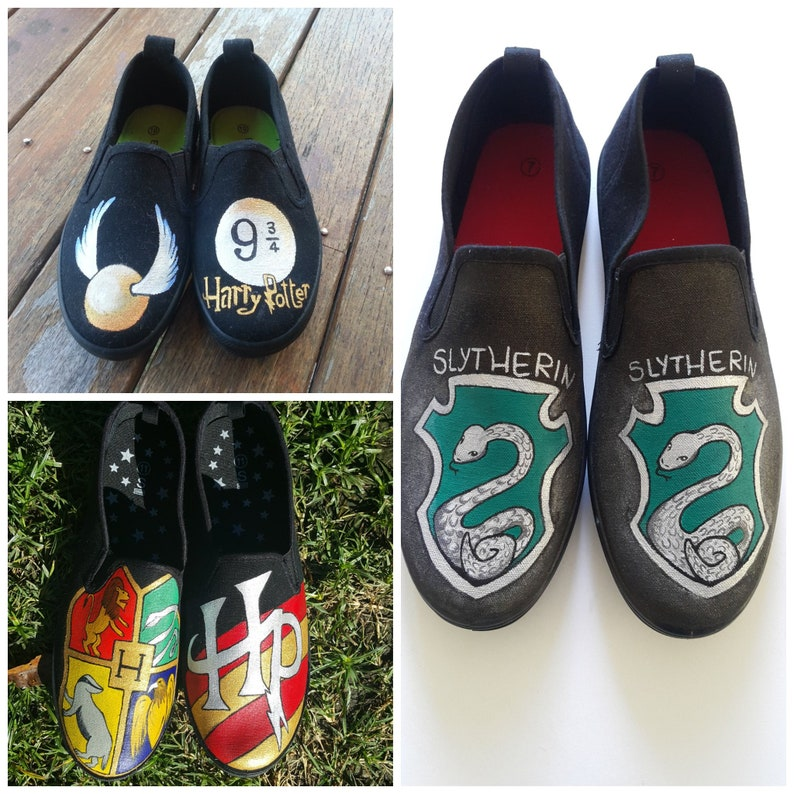 c0585262bab5 Custom Hand Painted Canvas Shoes. Adults and Kids. Harry