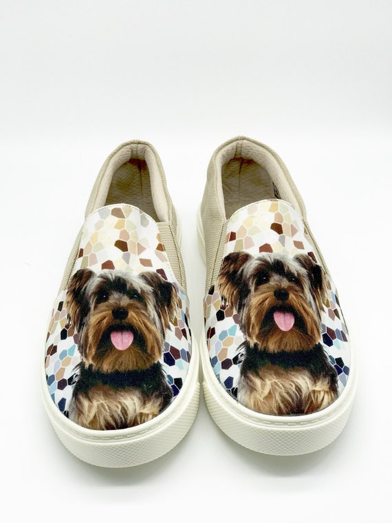 Yorkshire Terrier Shoes Yorkie Lovers Dog Breeds Animal Etsy