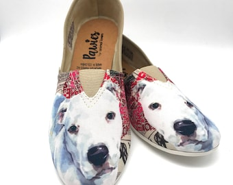 PIT BULL SHOES, Women shoes, Dog Lovers, dog breeds, pit bull, pawies