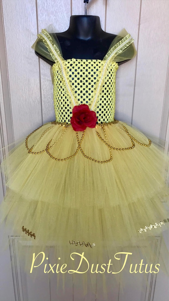96402d12044 Beauty and the Beast Belle tutu dress